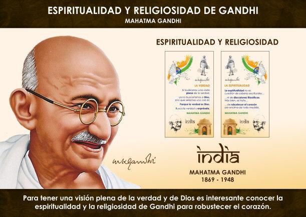 Espiritualidad y religiosidad de Gandhi - Escrito por Mahatma Gandhi