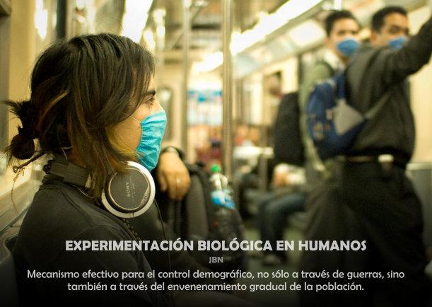 Experimentación biológica en humanos - Escrito por LIE