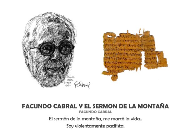 Facundo Cabral y el sermón de la montaña - Escrito por Facundo Cabral