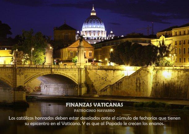 Finanzas vaticanas - Escrito por Patrocinio Navarro