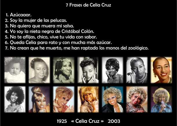 Frases De Celia Cruz