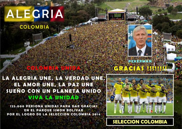Gracias selección Colombia - Escrito por Daniel Alzate