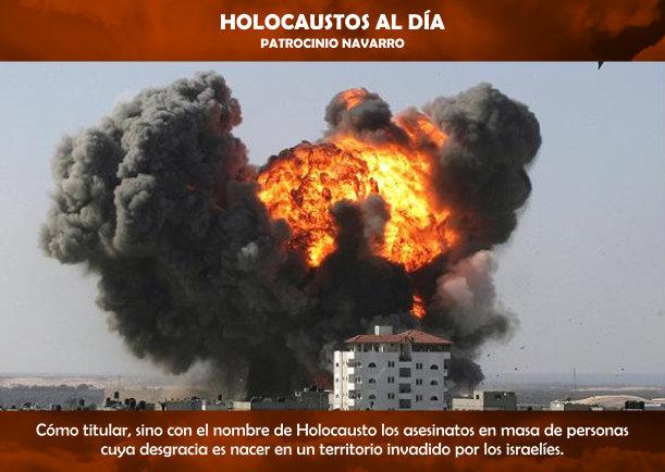 Holocaustos al día - Escrito por Patrocinio Navarro