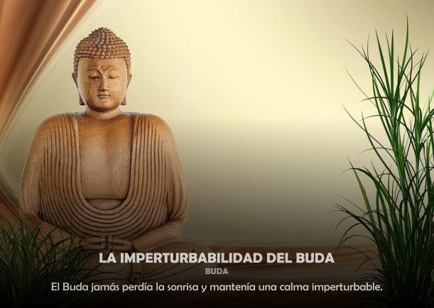 La imperturbabilidad del Buda - Escrito por Buda