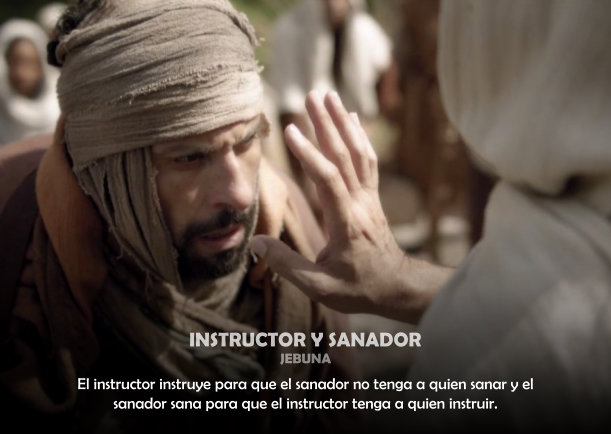 Grafica 'Instructor y Sanador' Categoria 'Espiritualidad' Palabra 'Intructor'
