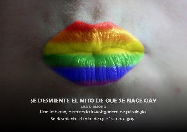 Se nace homosexual