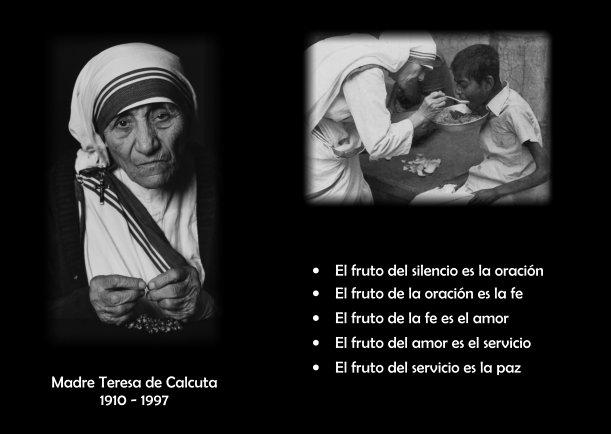 Biografía De La Madre Teresa De Calcuta