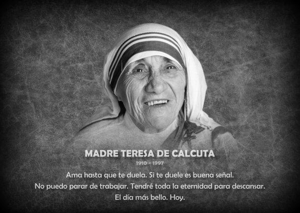 Biografía de Madre Teresa - Escrito por Teresa de Calcuta