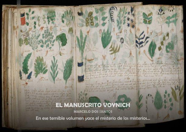 El manuscrito Voynich - Escrito por Marcelo Dos Santos