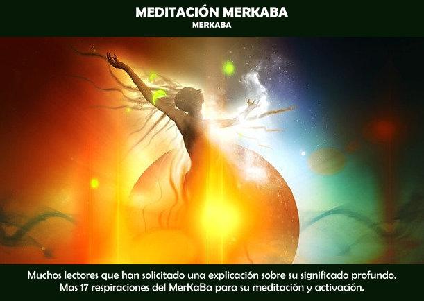 Meditación Merkaba - Escrito por JBN-LIE