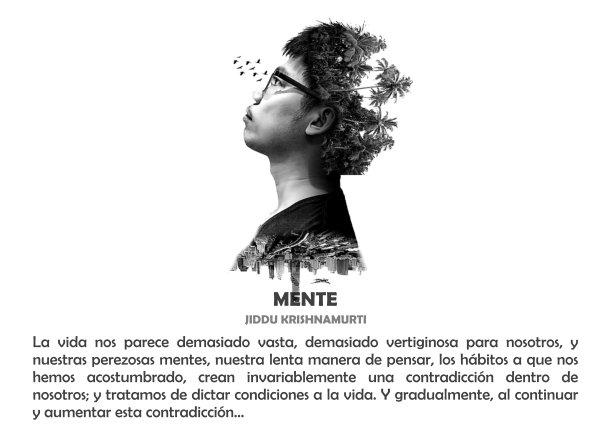 Nuestras perezosas mentes - Escrito por Jiddu Krishnamurti