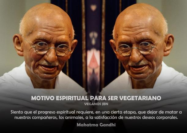 Motivo espiritual para ser vegetariano - Escrito por Veganos JBN