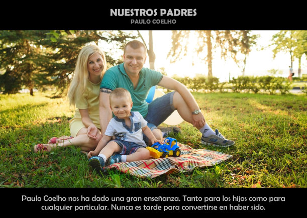 Nuestros padres - Escrito por Paulo Coelho