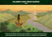 PALABRAS PARA CREAR SILENCIO