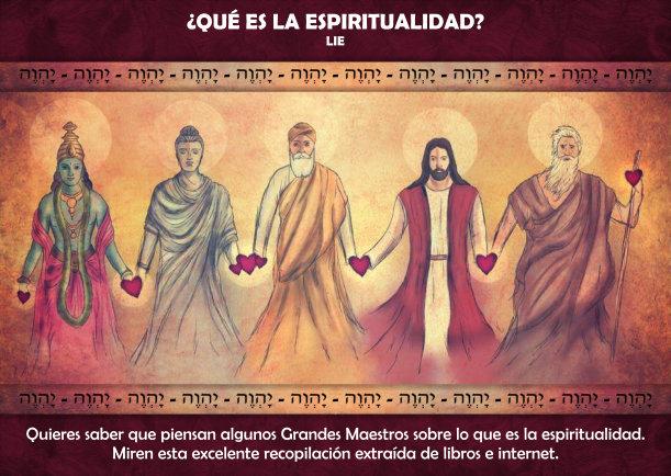 Qué es la espiritualidad?
