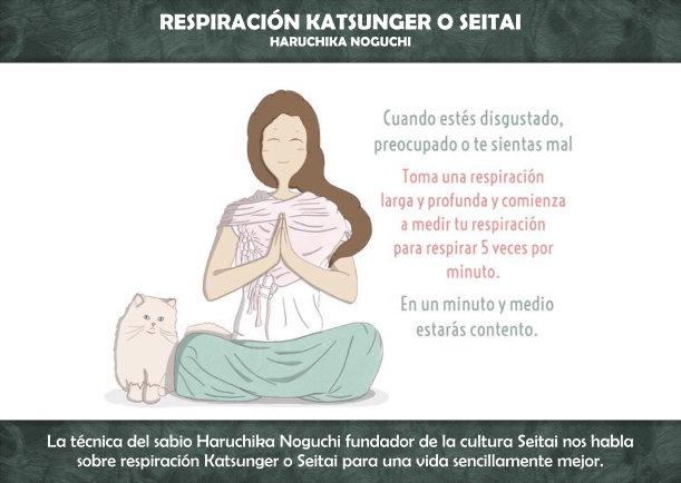 Respiración Katsunger o Seitai - Escrito por Haruchika Noguchi