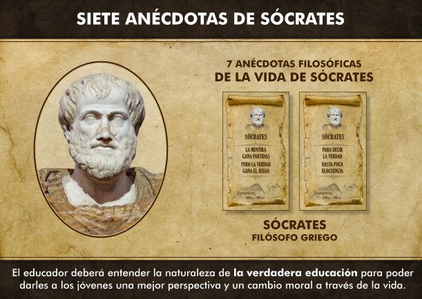 Siete anécdotas filosóficas sobre Sócrates - Escrito por Socrates