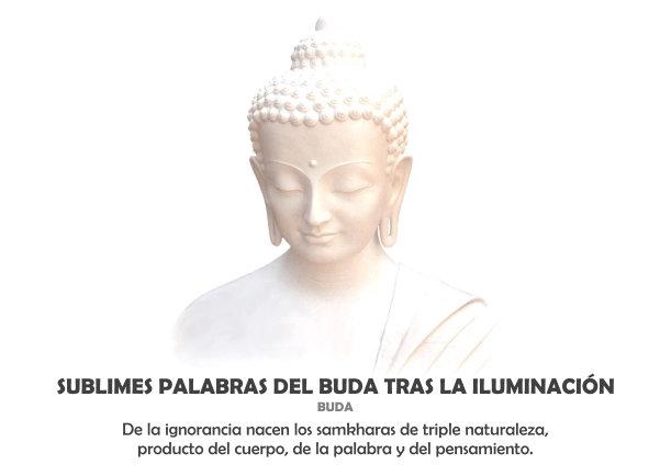 Sublimes Palabras Del Buda Tras La Iluminación