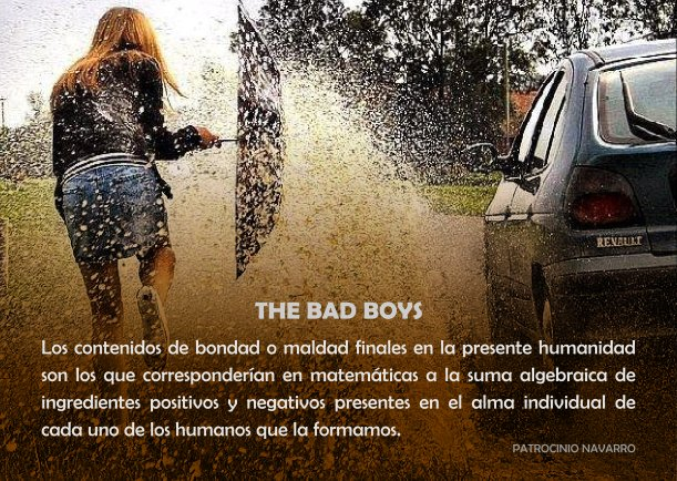 The Bad Boys - Escrito por Patrocinio Navarro