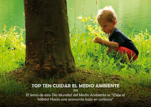 Top ten cuidar el medio ambiente - Escrito por LIE