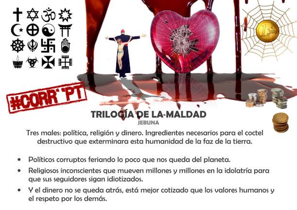 TRILOGíA DE LA MALDAD