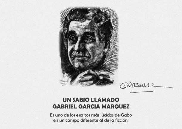Un sabio llamado Gabriel García Márquez - Escrito por Gabriel García Márquez