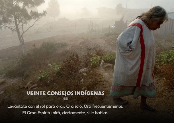 Veinte consejos indígenas - Escrito por JBN