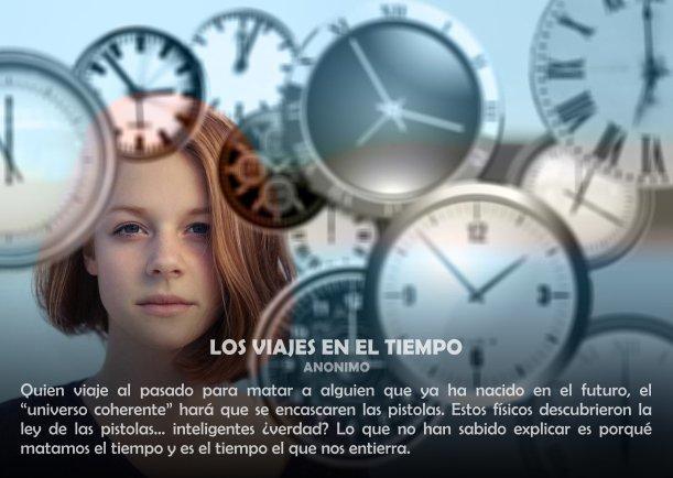 Los viajes en el tiempo - Escrito por LIE