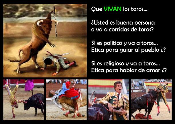 Vivan los toros - Escrito por Veganos JBN