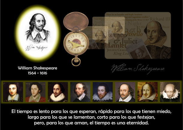 Grafica 'William Shakespeare' Categoria 'Frases' Palabra 'Personajes'